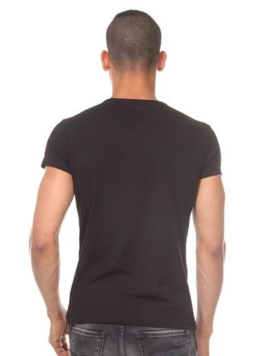 Dark Zone Basic Yarım Kollu Tişört Siyah
